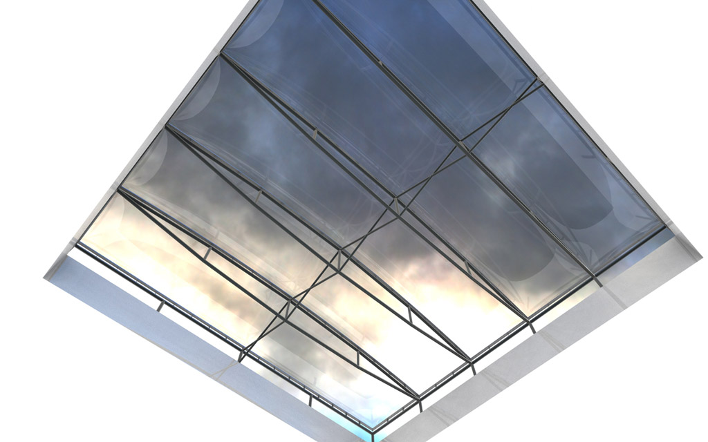 Typical ETFE Cushion Roof