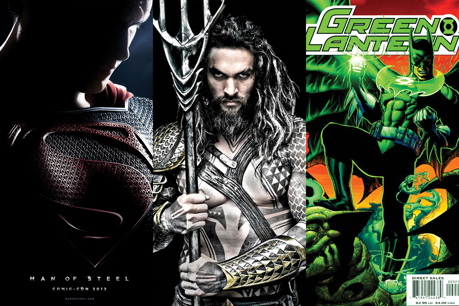 You can see Batman's influence in the current looks for Superman, Aquaman, and Green Lantern.