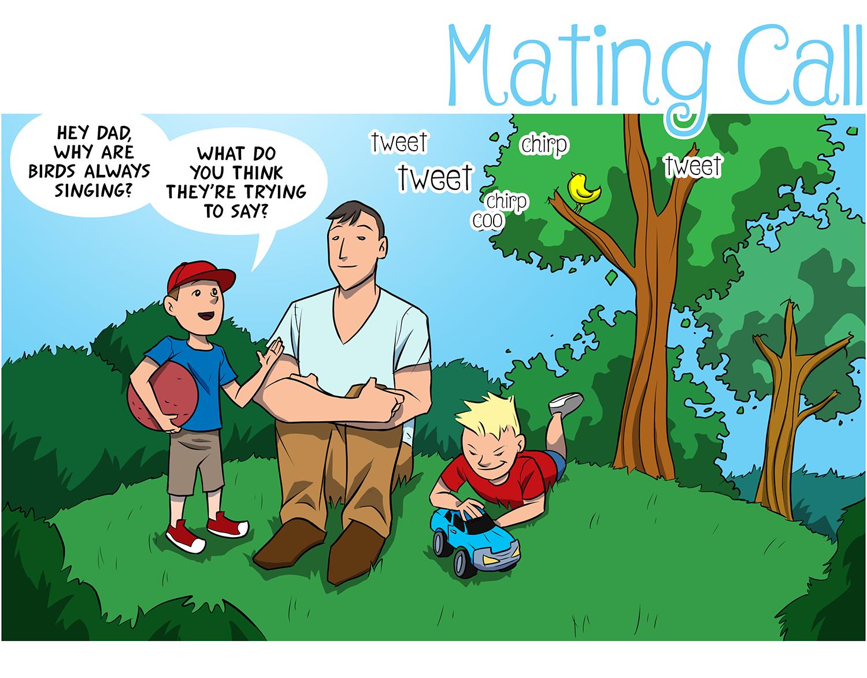 Mating Call Panel 1