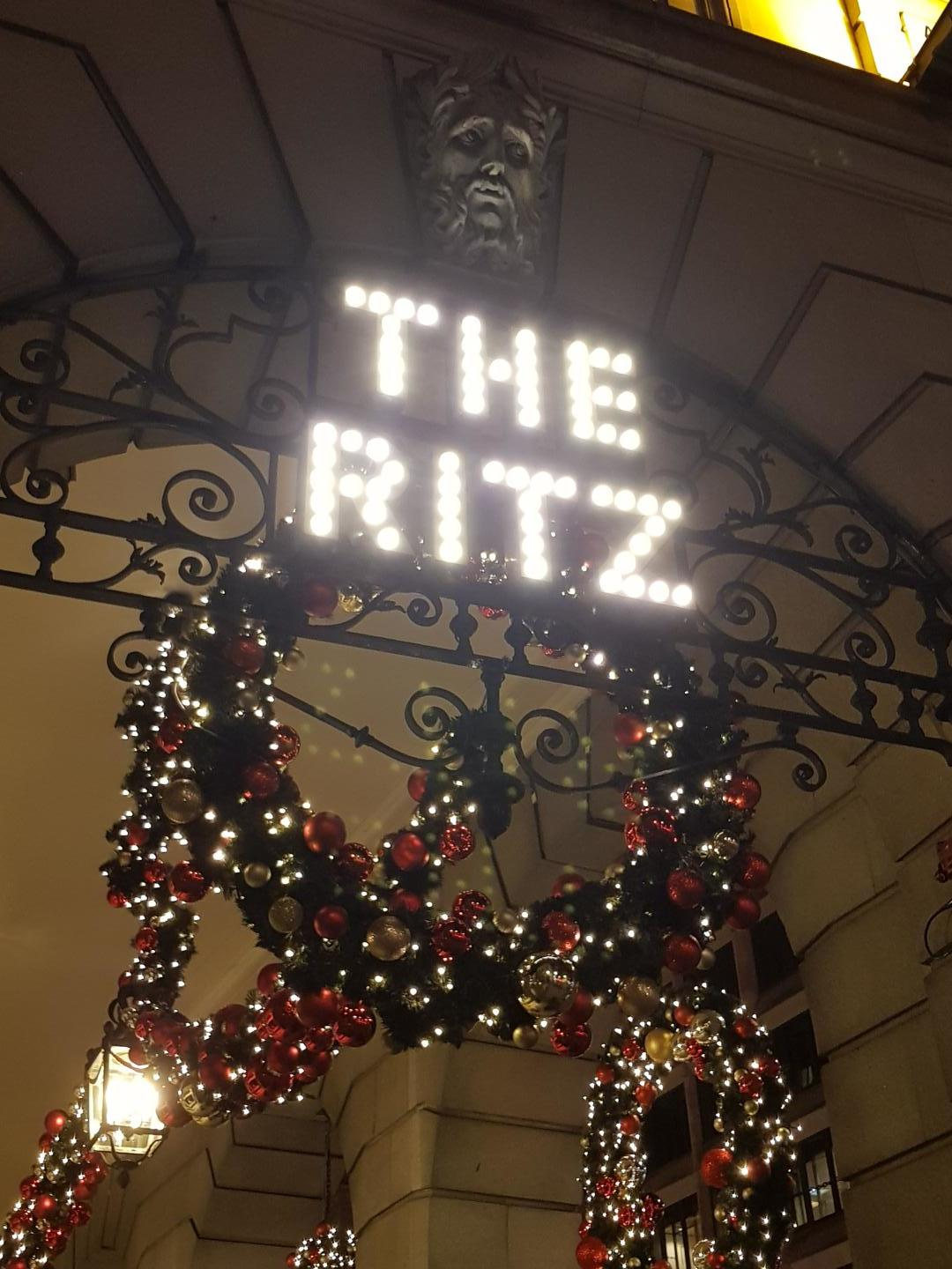 The Ritz in lights