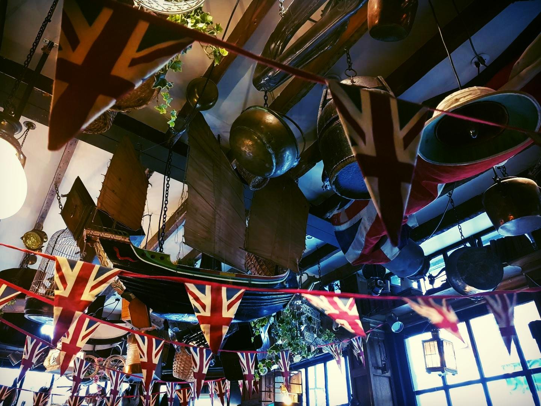 It is very British
