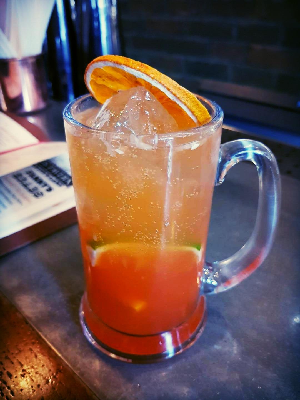 An Umble-cum-Stumble cocktail