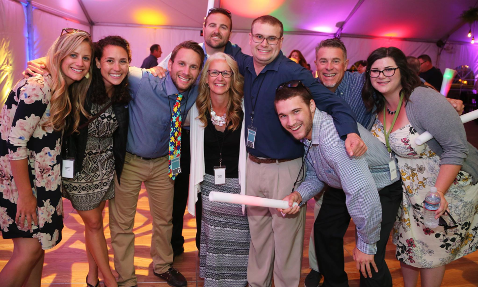Becoming Independent families at anniversary gala