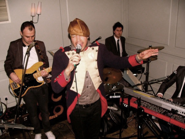 In the the early days, singing with my first band