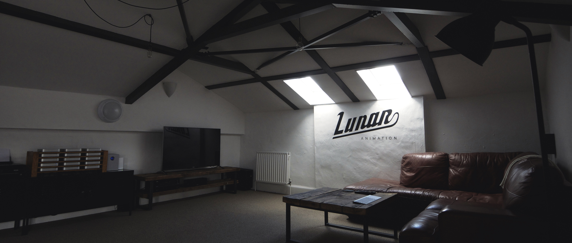 Lunar Animation Office and Logo