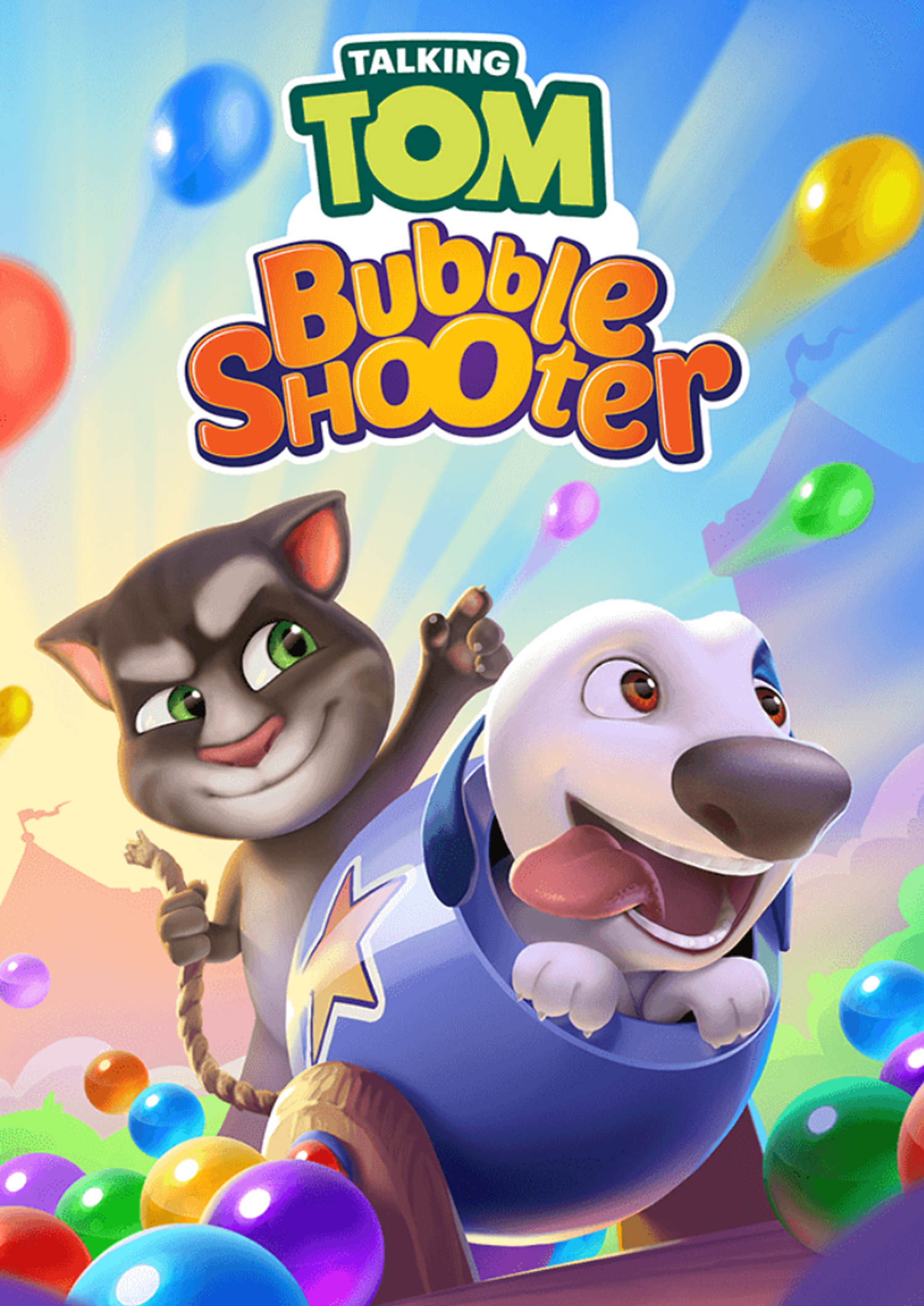 Talking Tom - Bubble Shooter Poster