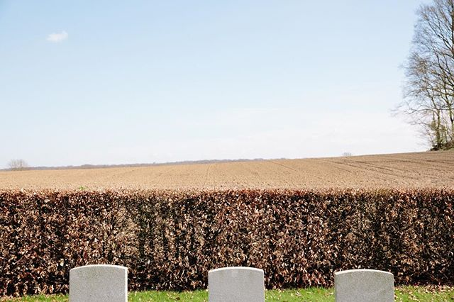 View from a WW1 cemetery in Ayette  #worldwarone #ww1 #flanders #france #worldwaronehistory #worldwaronememories #cemetery #ww1cemetery #cemeteryphotography #fields #ww1memorial #memorial #flandersfields #thefallen #documentaryphotography #documentaryphoto #documentaryphotographer #landscape #colour #color #colourphotography #colorphotography #documentary