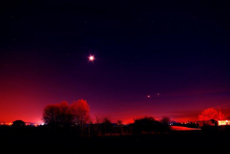 Moon & Planets