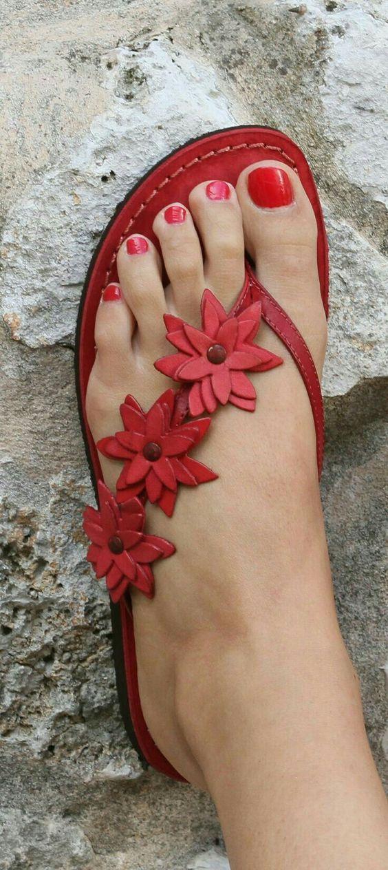Women PU Slippers Casual Flower Flip Flops Shoes – RosaMiss.jpg