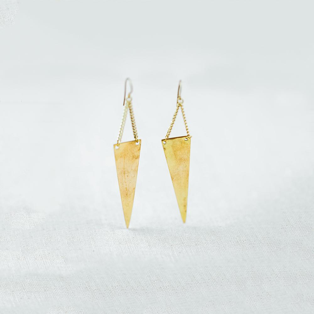 ArtisanAndFox_Jewellery_KONA Brass Earrings