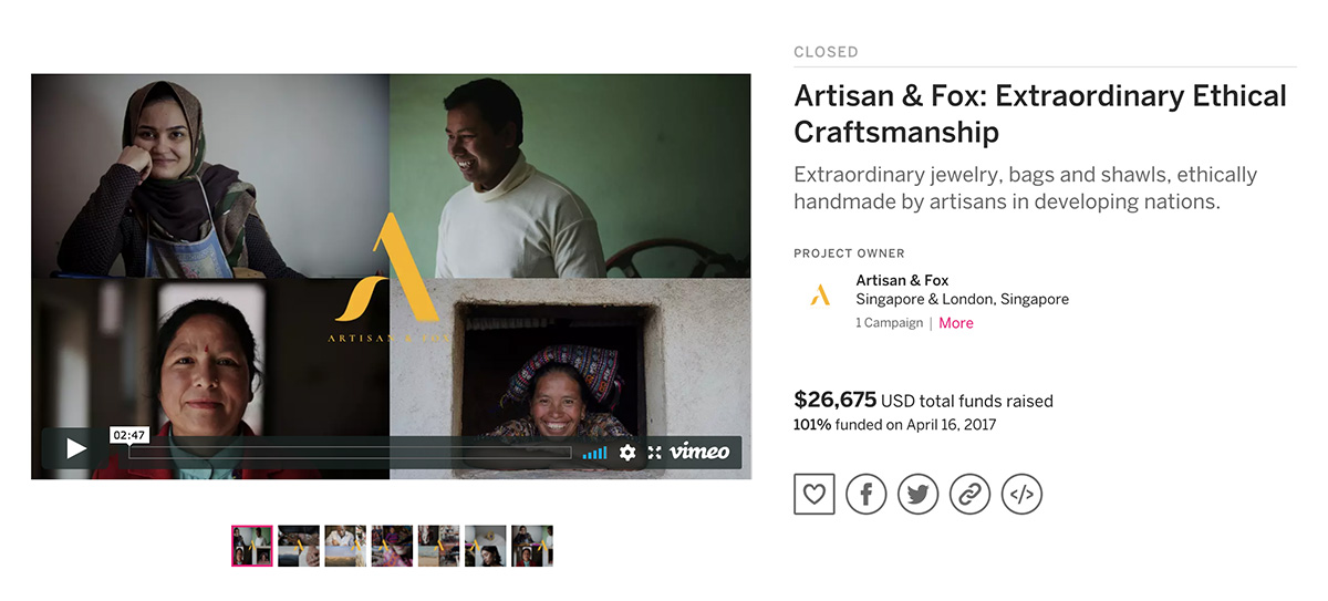 The crowdfunding campaign gave us a glimmer of what was possible.
