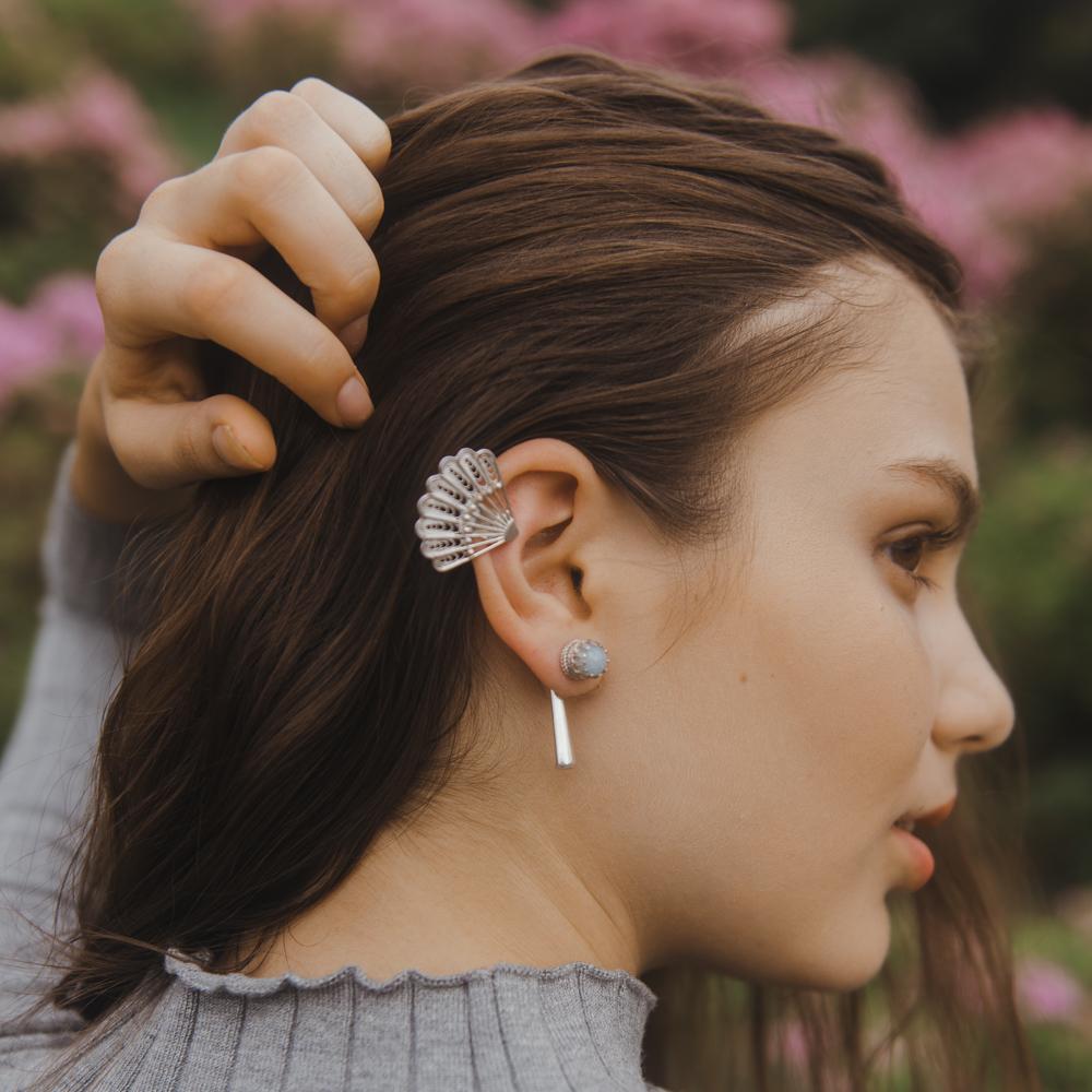 MUA Earrings in Sky Blue