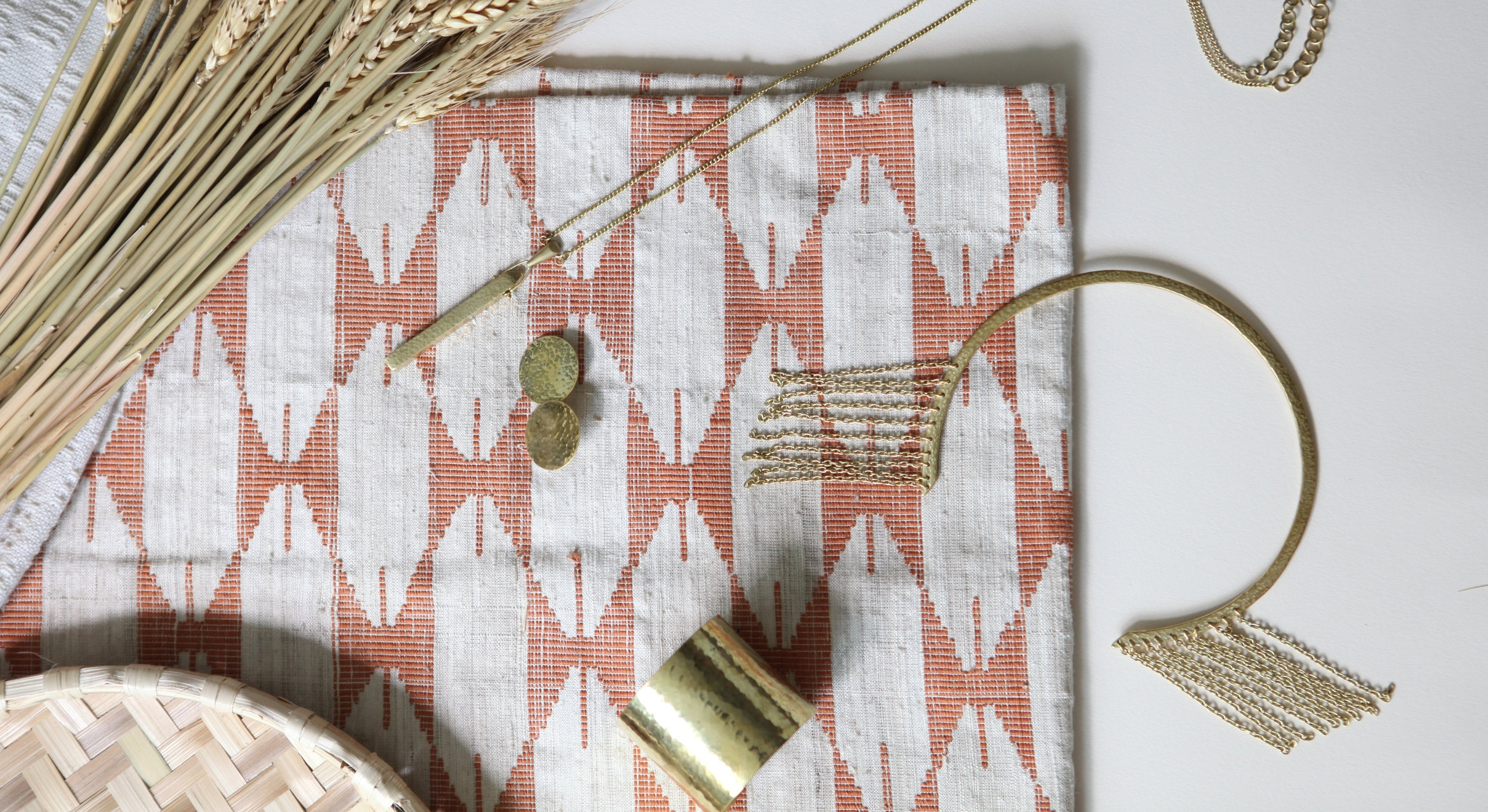 Our  upcycled brass jewelry range , handcrafted by our artisan partners in Kenya.