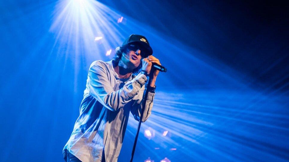 Venezuelan singer Danny Ocean. Photo by UNHCR.