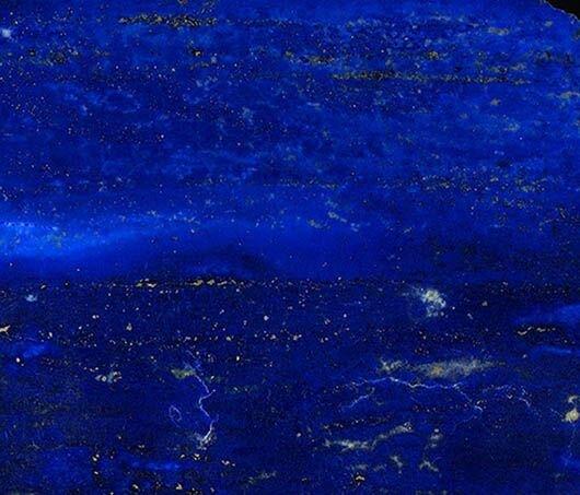 A close up of the Lapis Lazuli.