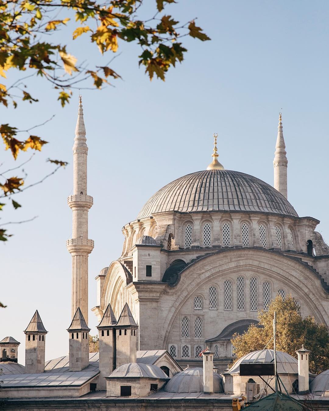 The Hagia Sophia in Istanbul, Turkey. A former church that is now a mosque. Photo: @inbedwith.me