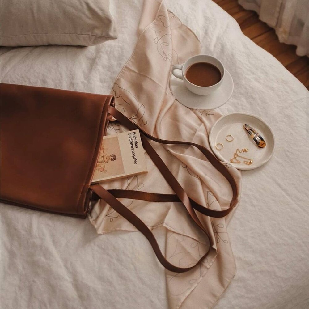 Staying organised with our  SACH Tote Bag . Photo by Frederique LaSalle.