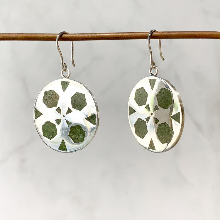 SHAHRAK Silver Earrings