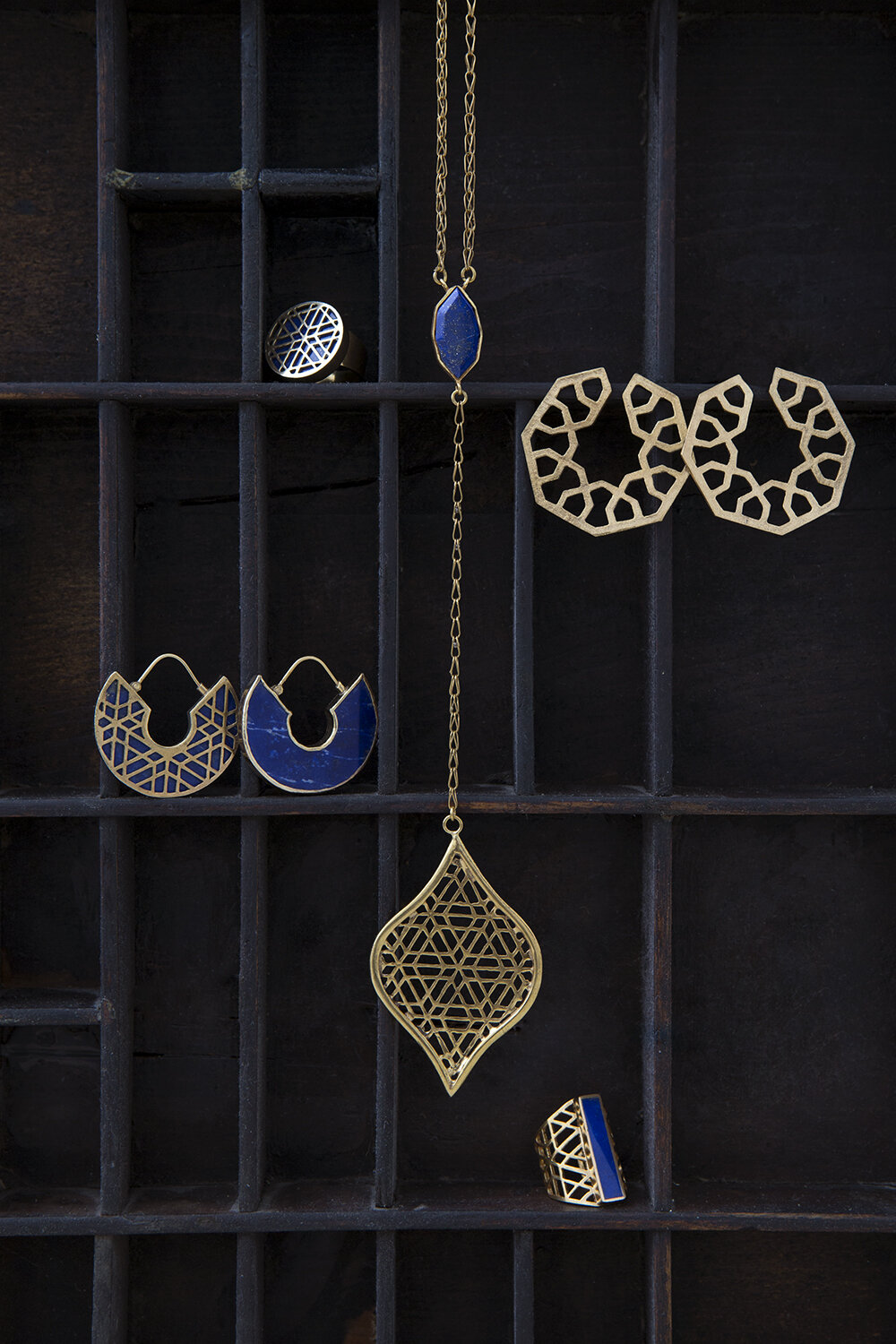 Lapis Lazuli Jewellery. Handcrafted in Afghanistan.