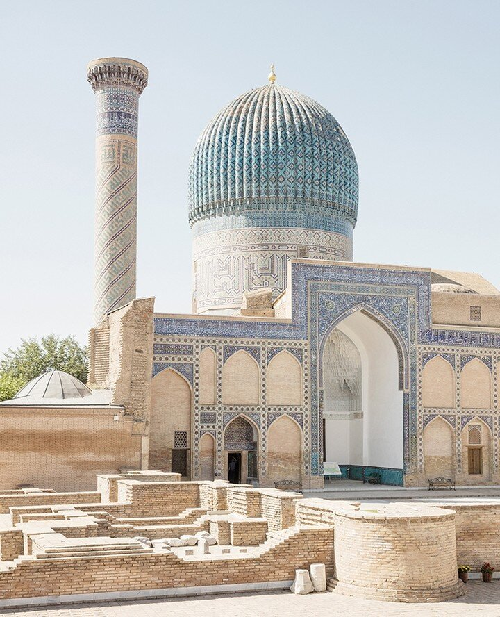 At the heart of the Silk Road in Uzbekistan. Bukhara emerged as a rich merchant city as textiles and craftsmanship were traded throughout Asia. Image: Suitcase.