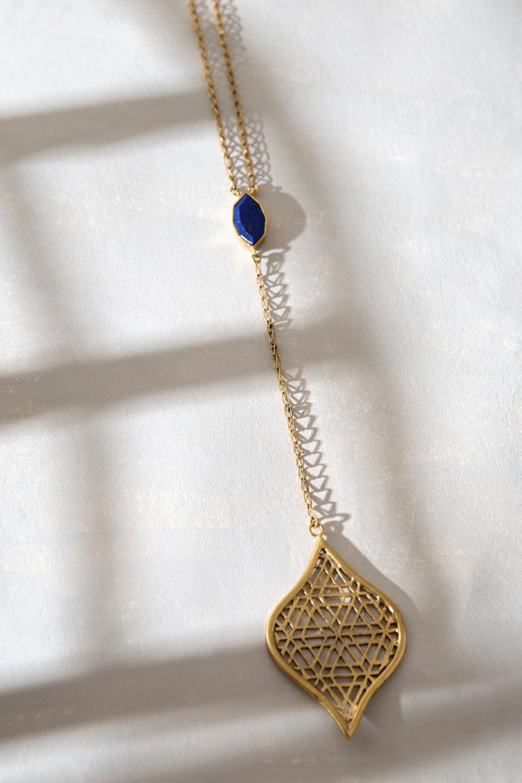 ArtisanAndFox_Jewellery_LAILA Drop Necklace