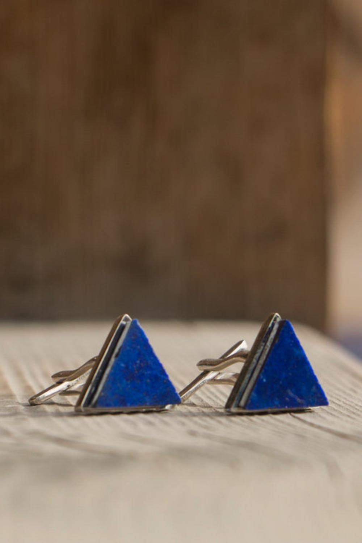 ArtisanAndFox_Jewellery_HERAM Lapis Lazuli Cuff Links
