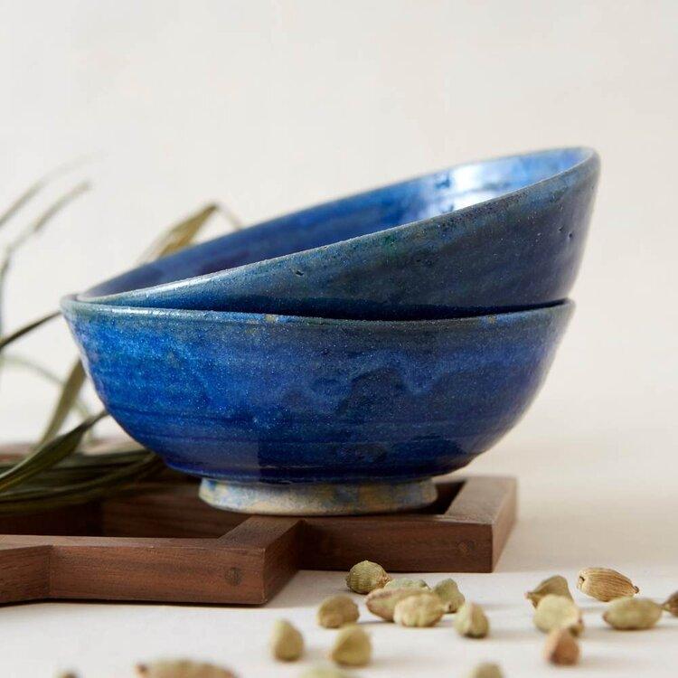 Top Images:  LAILA Drop Pendant Necklace ,  Lapis Istalifi Bowls .