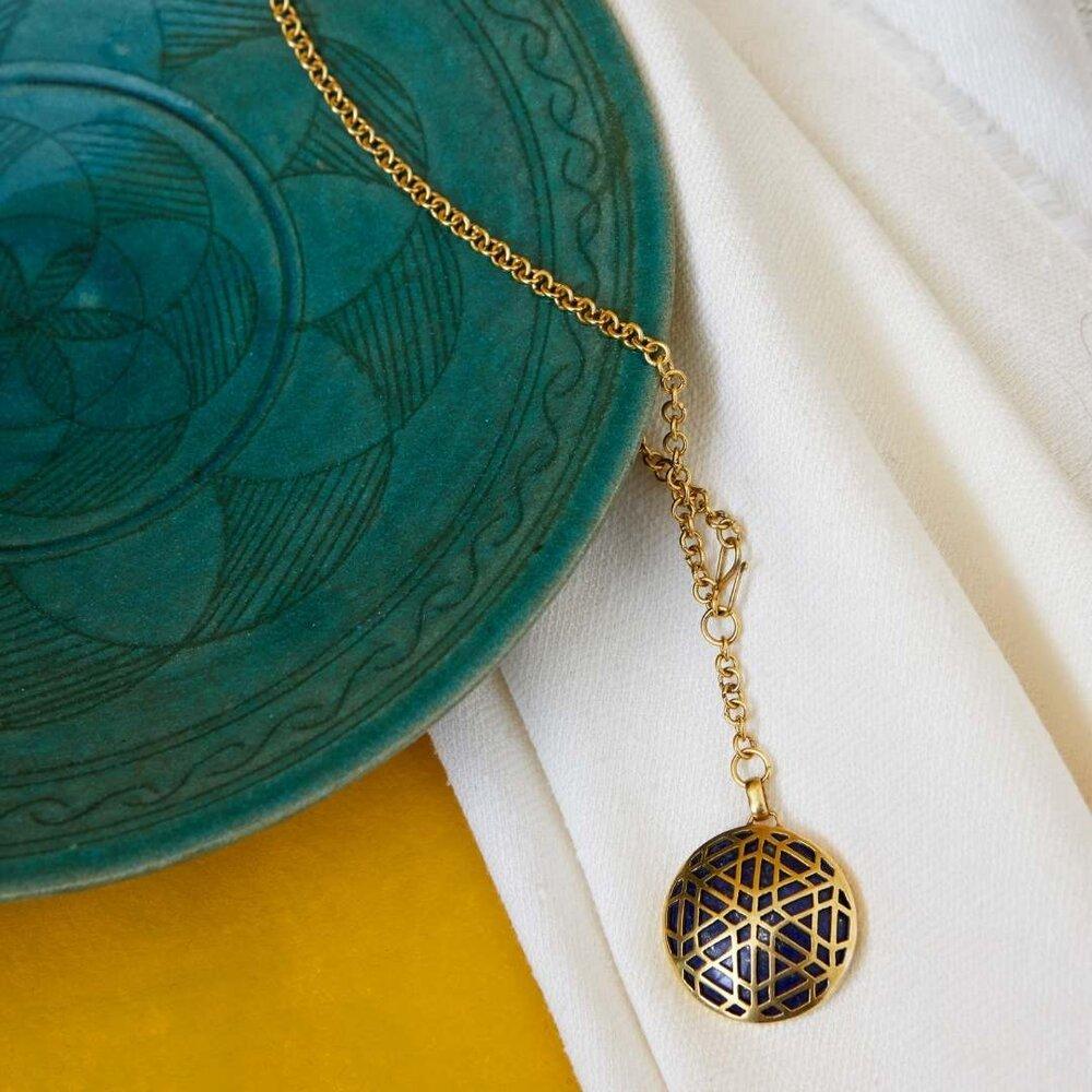 JALI Signet Pendant Necklace.