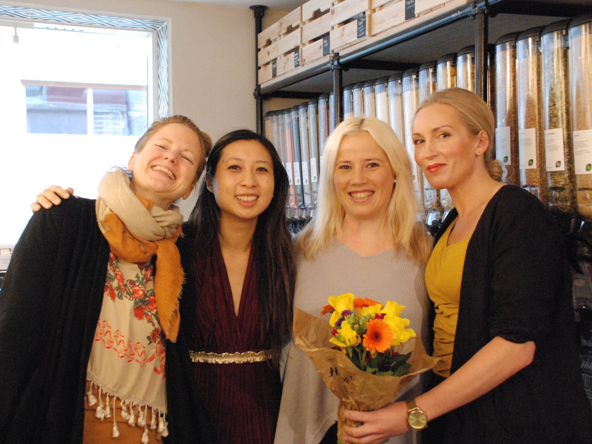 F.v.: Hilde Øvreeide, Anita Bui, Anne Brit Martinsen og Monika Hartveit