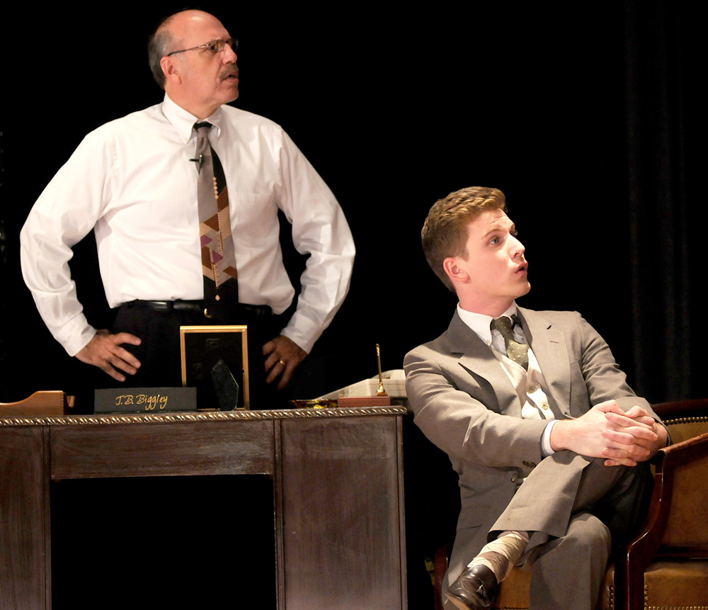How to Succeed in Business Without Really Trying,  Bud Frump (Brass Rail Players)