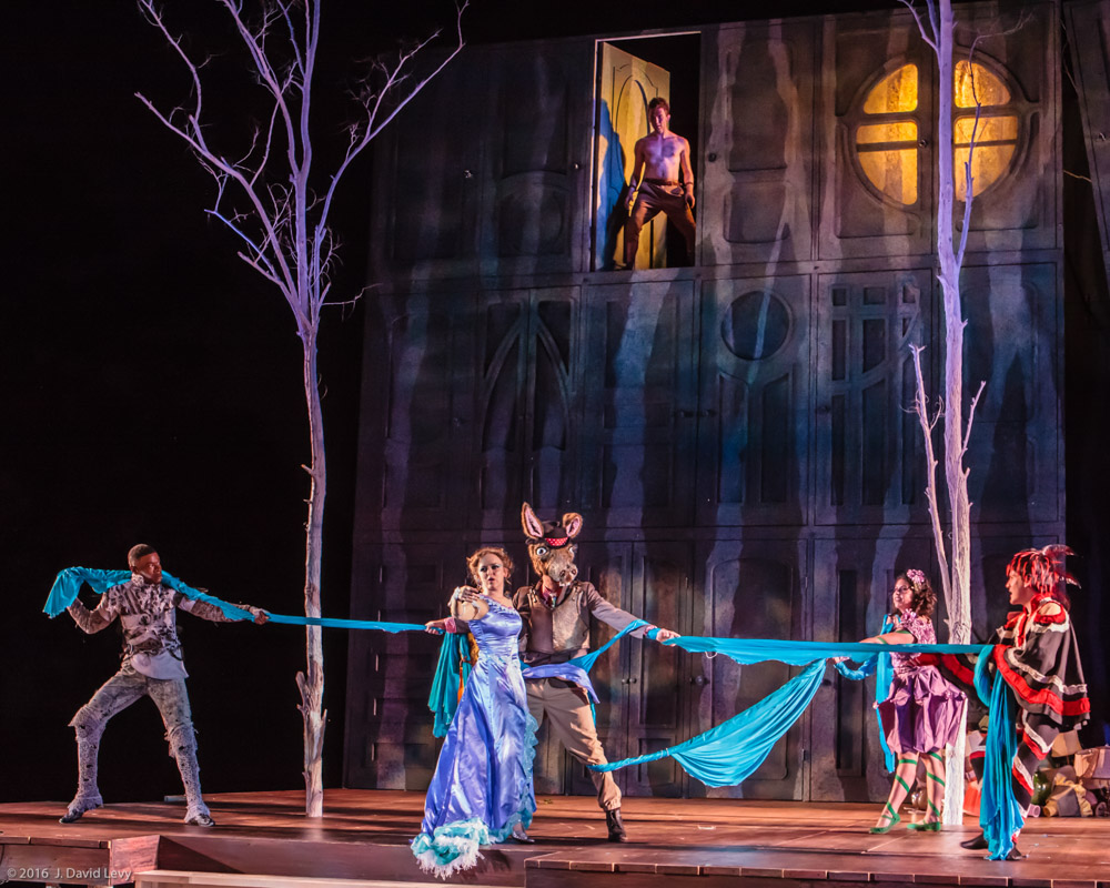 A Midsummer Night's Dream,  Philostrate/Moth (Shakespeare Festival St. Louis)