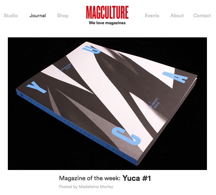 Yuca Magazine Issue I