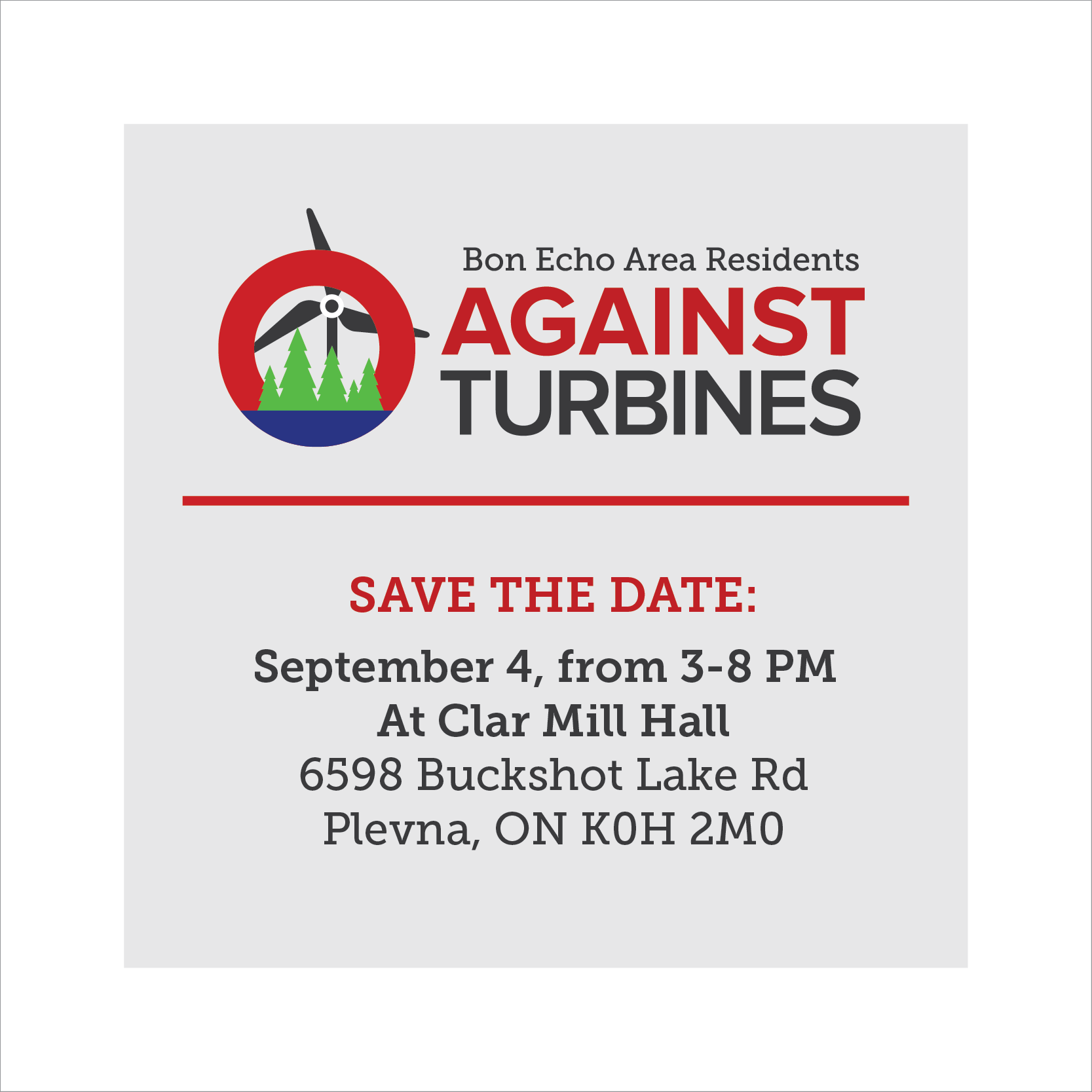 Save The Date: September 4, 3-8pm