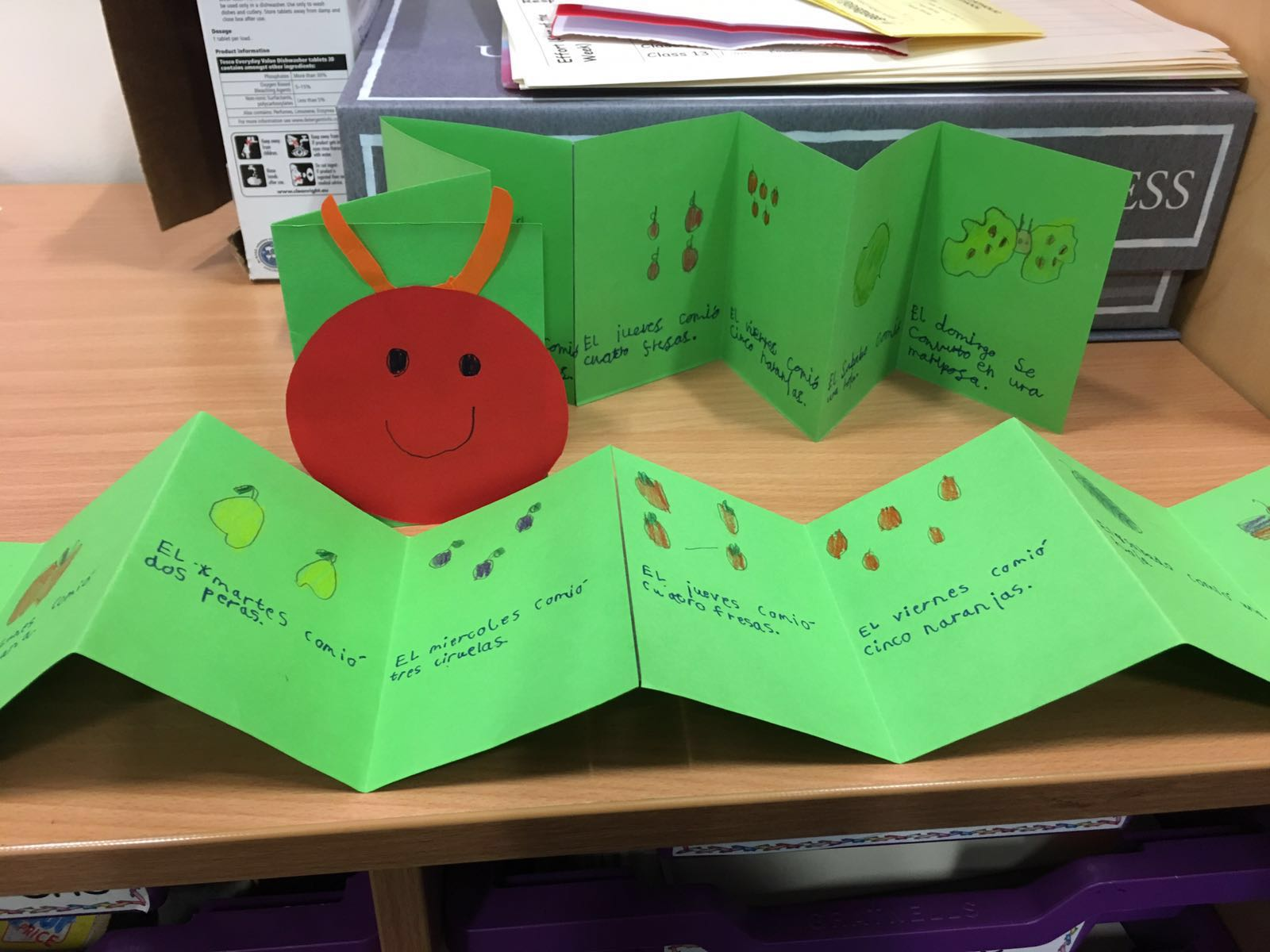 Year 3 at St Gabriel's learnt Spanish in KS1 as well so they loved creating their own books of a very familiar story at the start of their KS2 language learning.