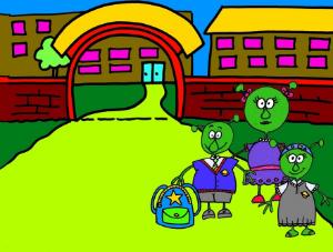 Alien family adventures