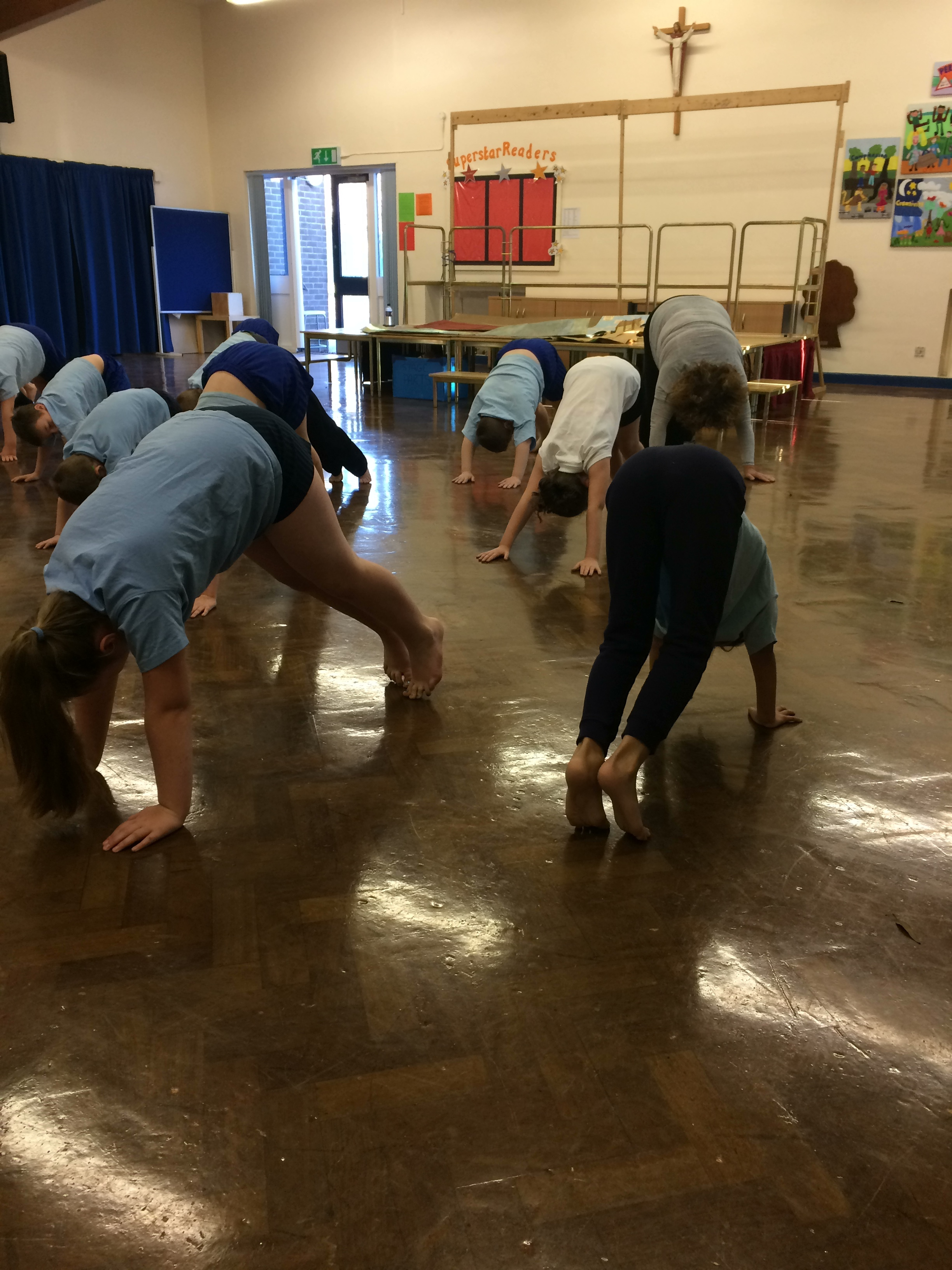 St Barnabus have booked in 3 sessions in which they are really enjoying developing their yoga and French