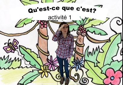 Native speaker core language teaching and learning videos - Learn together with a French primary languages teacher