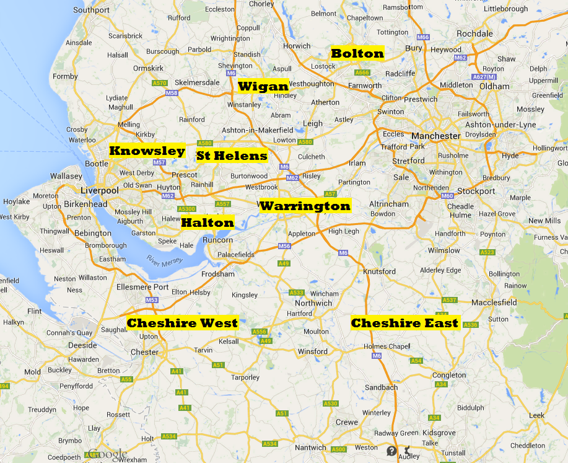 Our training venues across the North West