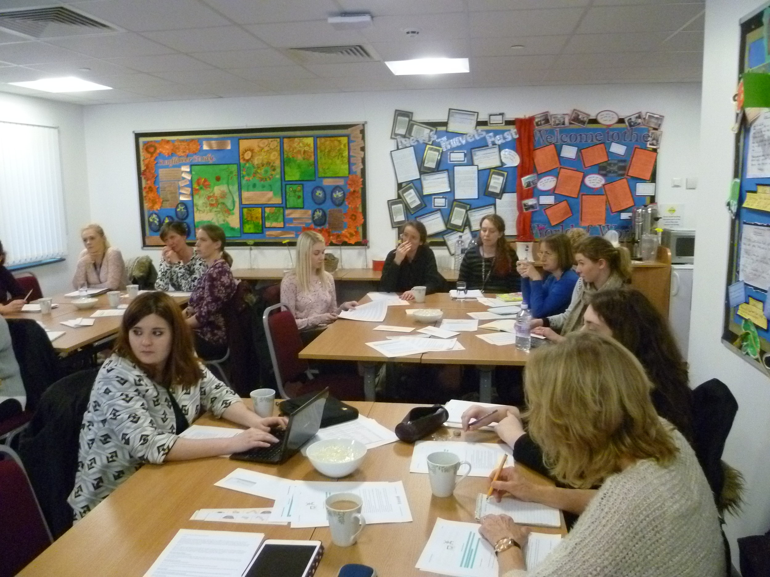 Local Network Meeting for the DfE training project