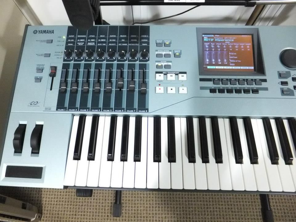 Yamaha Motif workstation