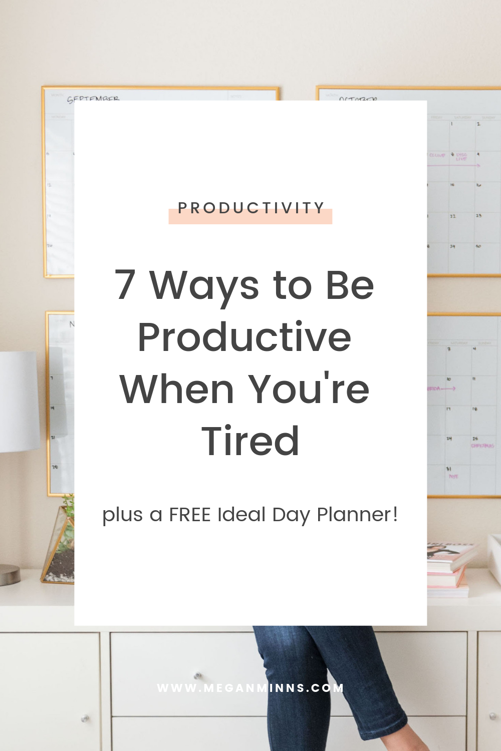 How can you still be productive when you're tired or unmotivated? In this episode of The Productive Life, we're covering 7 strategies to still get to-do lists and the top priorities done. And don't forget to grab our free Ideal Day Planner so you can make planning a sinch. READ THE FULL BLOG POST HERE ▶️  https://meganminns.com/blog/be-productive-when-you-are-tired