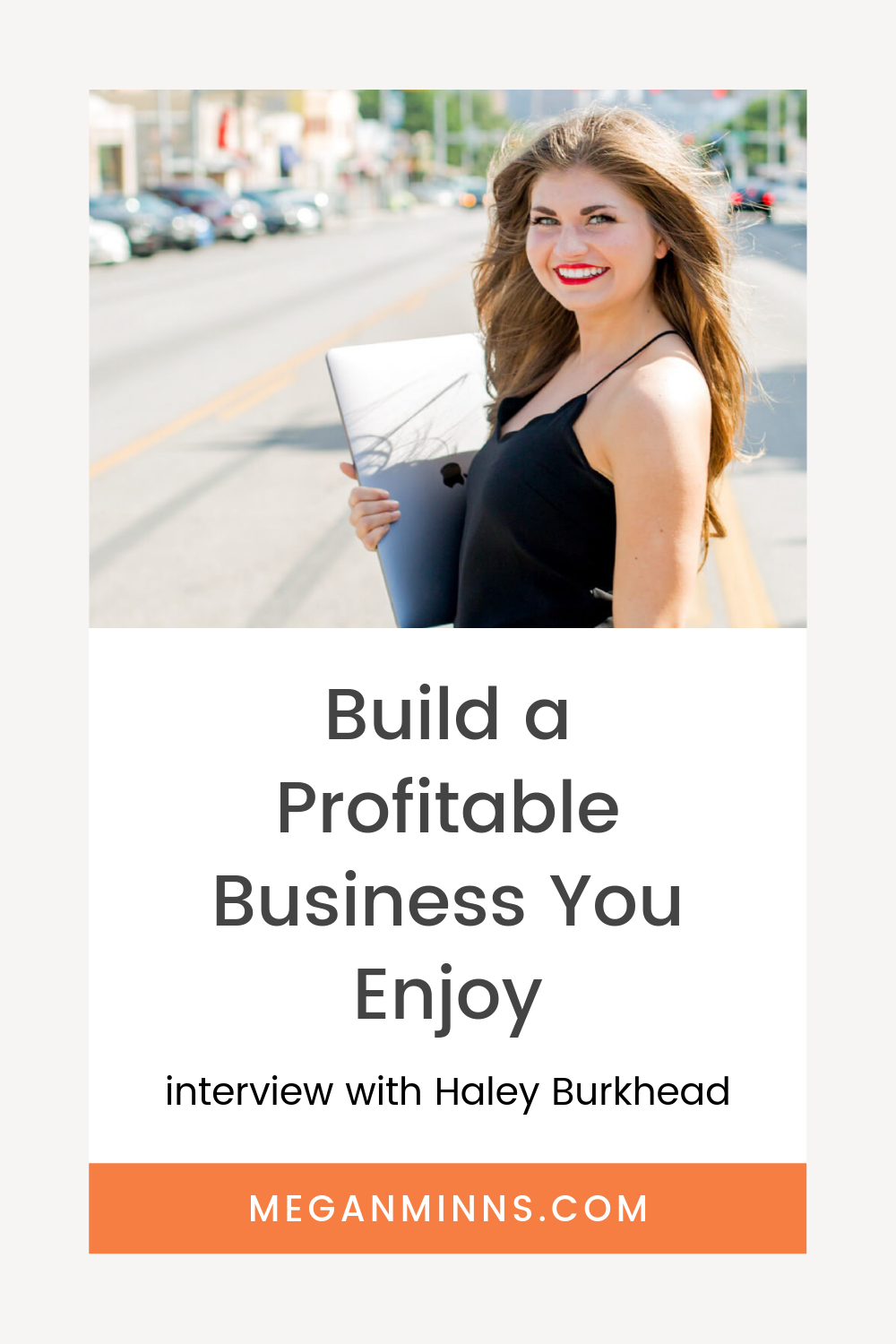 I'm talking with Haley Burkhead of Profit Planner all about how she has created a business that is both profitable (she shares her income report every month - they're amazing!) but also truly enjoyable for her. If your goal is to create a lifestyle you love that is support by your business, this interview is not one to miss!  FULL INTERVIEW HERE >> meganminns.com/blog/haley-burkhead