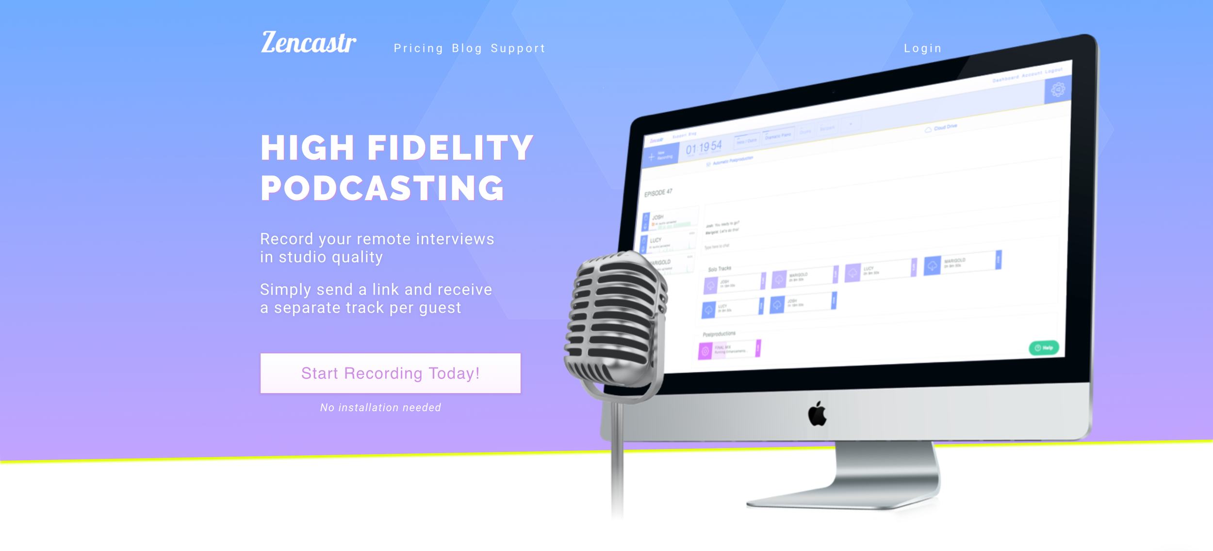 Zencastr for podcast recording - Megan Minns