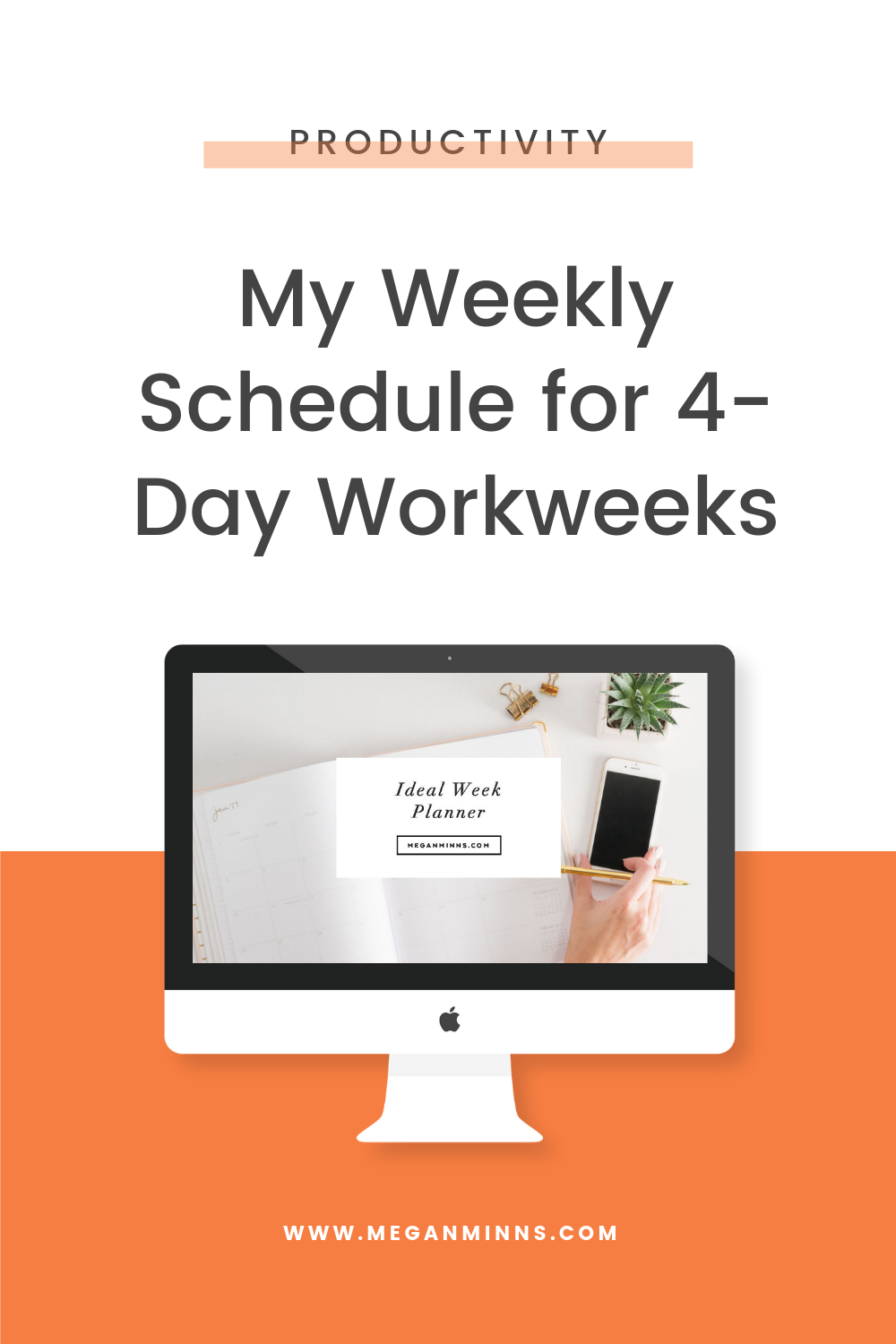 Working all day, 5 days a week can leave you feeling depleted, frazzled, and without time for hobbies, personal projects, or social events. I knew I didn't want that for me and my business, which is why I'm sharing exactly how I created a 4-day workweek that's just as, if not more effective than working all 5 weekdays.  You'll get all the steps do create your own ideal week in this episode, and don't forget to download your FREE Ideal Week Planner!  DOWNLOAD THE FREE IDEAL WEEK PLANNER HERE 🗓https://meganminns.com/idealweek  READ THE FULL BLOG POST ➡️ https://meganminns.com/blog/weekly-schedule-4-day-workweek