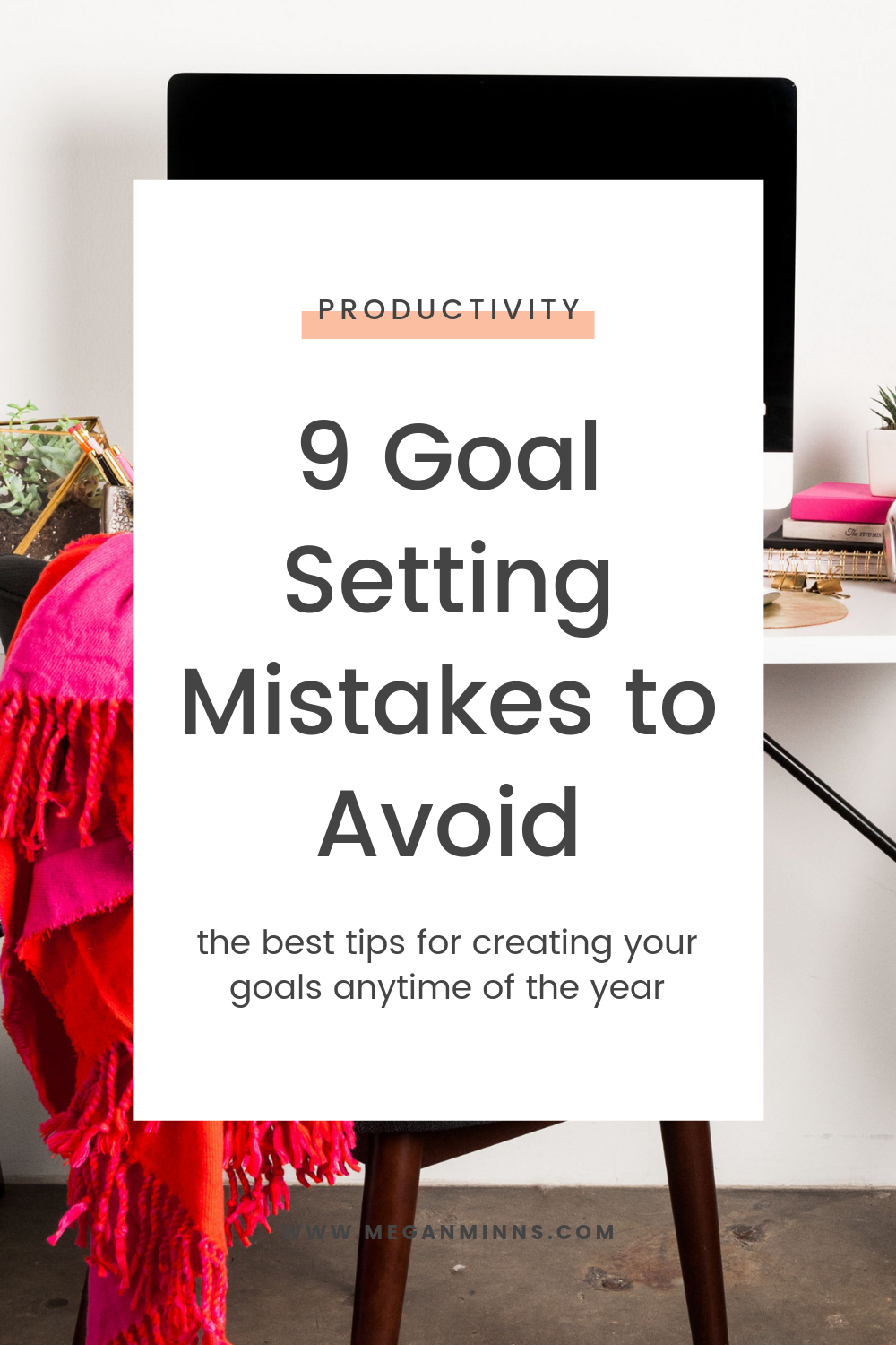There's nothing magical about January 1st, and there's also no reason why we shouldn't be making goals throughout the year! I'm sharing 9 critical mistakes to avoid when you're setting goals so you can set yourself up for the best success possible.  Listen for all my tips and tricks, and be sure to check out my NEW goal setting course!  READ THE FULL BLOG POST ➡️ https://meganminns.com/blog/goal-setting-mistakes-to-avoid