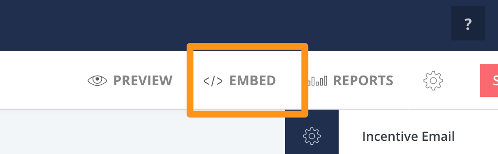 11. Click Embed  - ConvertKit Tutorial 2019 - Megan Minns