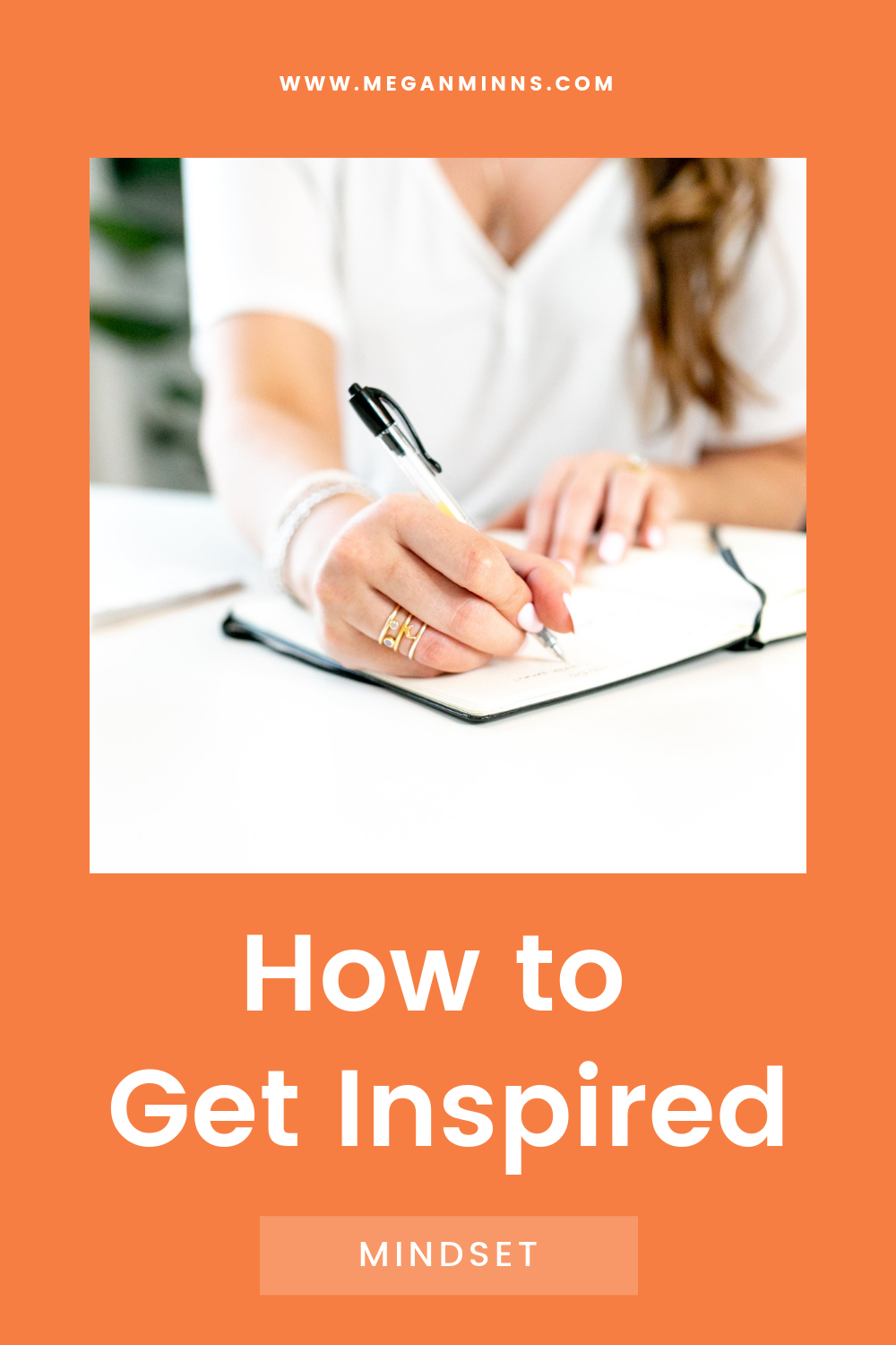Creating from a place of inspiration is always the ideal. You feel better about your work in the end, and you're more likely to share it.   But sometimes you still need to create and you're just not feeling inspired.  In today's episode, I'm sharing my three easy tips on how to get inspired. Do these and you'll feel like you've hit the ultimate reset button!  READ THE FULL BLOG POST ➡️ https://meganminns.com/blog/how-to-get-inspired