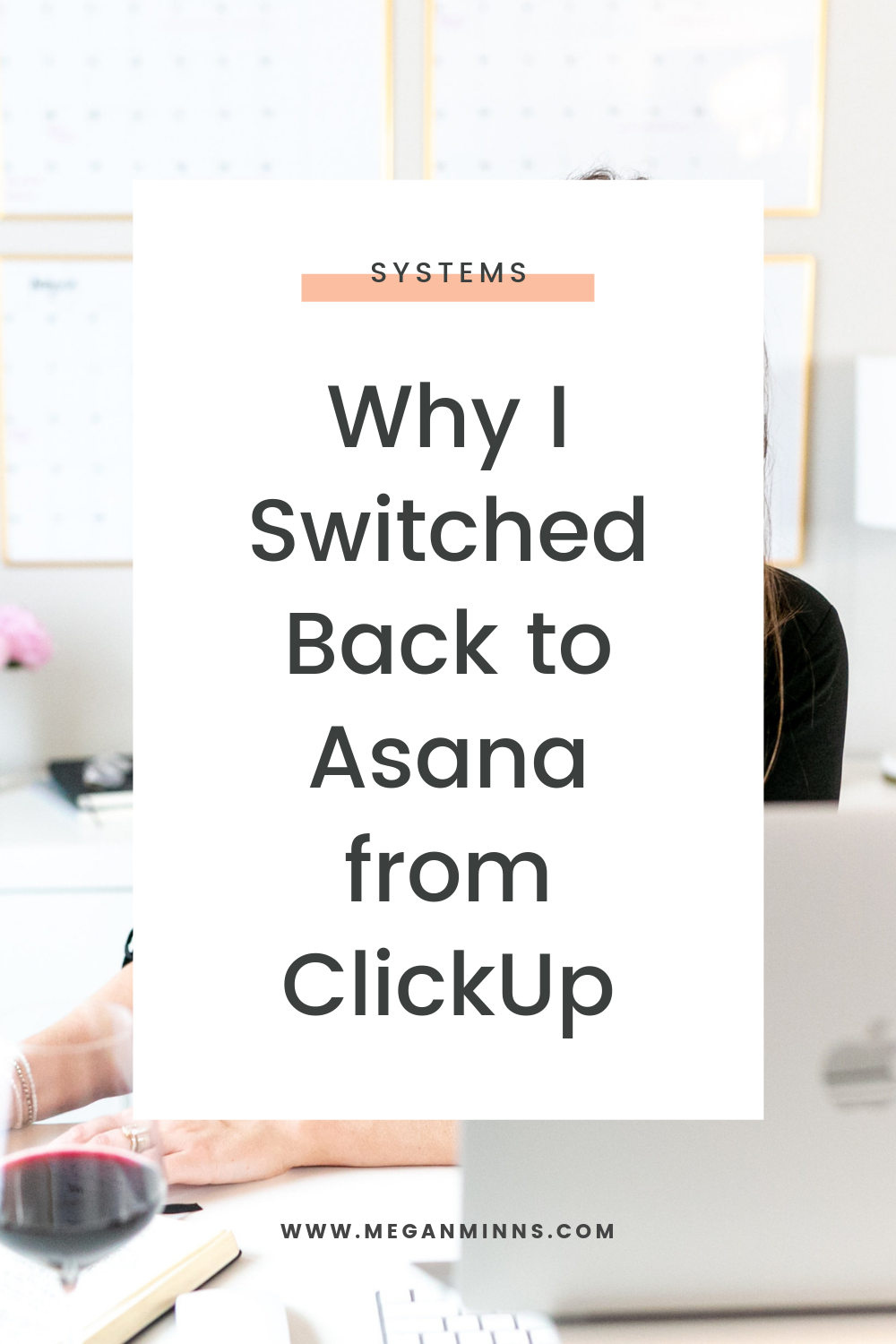 In this episode I share some of the pros and cons of Asana and Clickup, and why I ultimately chose to go back to using Asana for my business.   If you're a systems nerd like me, or you're researching which project management system you want to start using, this is for you!   There is no one size fits all platform, but listen in for the key features I love about Asana.  READ THE FULL BLOG POST ➡️ https://meganminns.com/blog/asana-from-clickup
