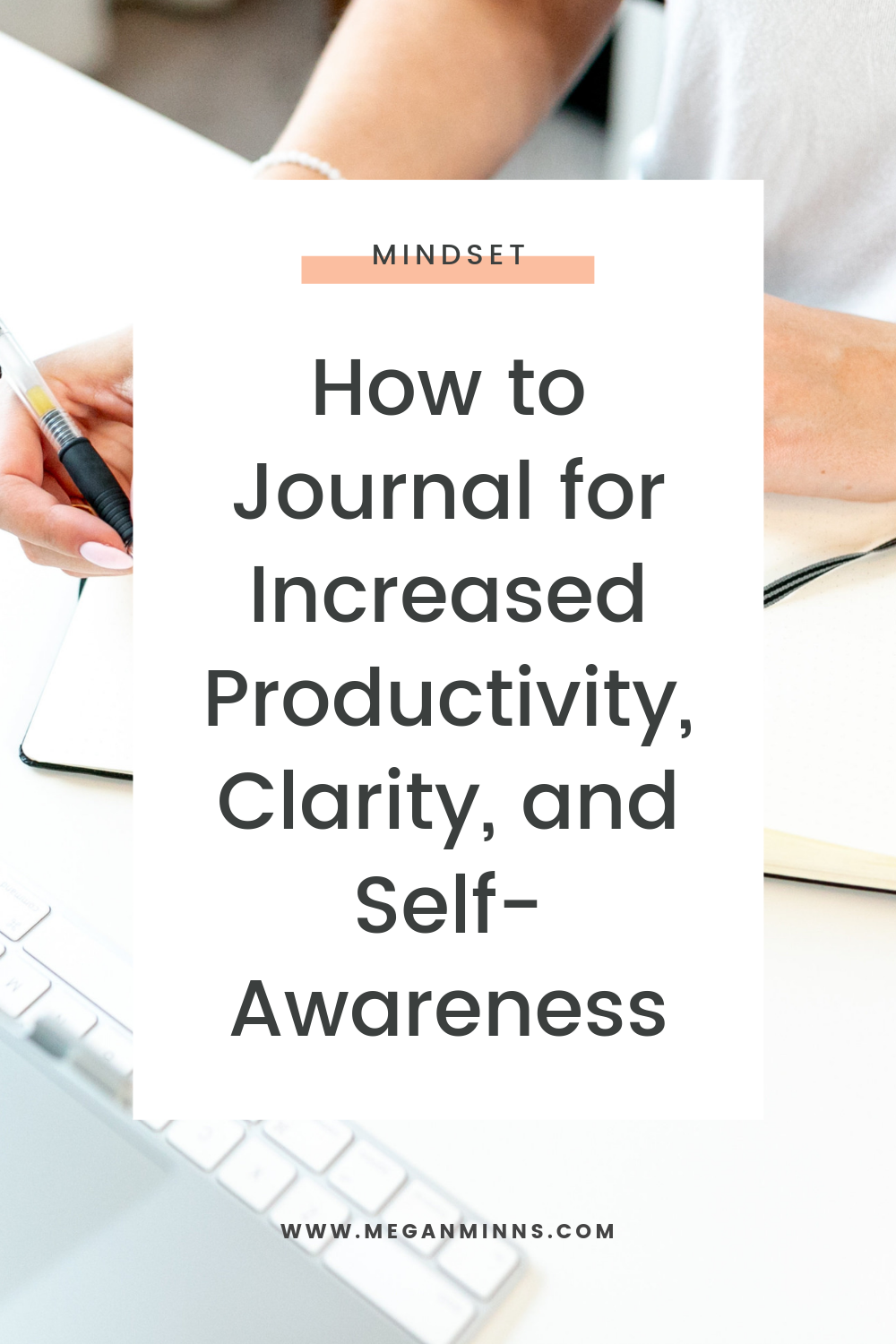 Today I'm sharing four different types of journaling to use to gain more productivity, clarity, and self-awareness in your business and life.   I'll go through some key differences between this type of journaling and keeping a diary as well as paper journaling versus digital journaling.   Make sure you also download my FREE journaling prompts so you can get started with your own life-changing journaling session.  READ THE FULL BLOG POST ➡️ https://meganminns.com/blog/how-to-journal