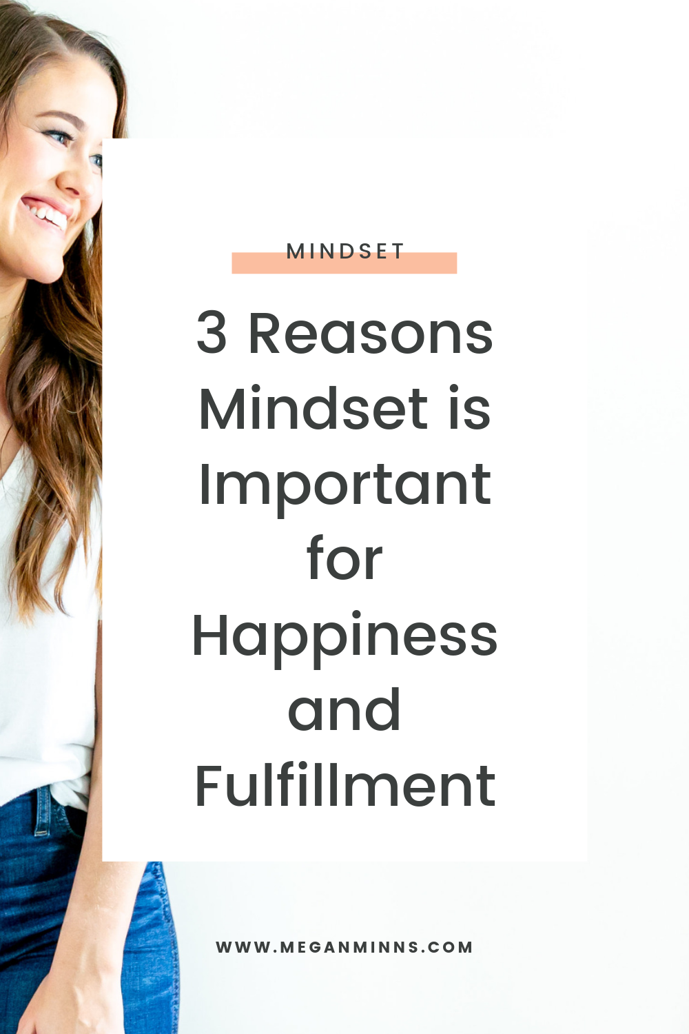TPL 027: 3 Reasons Mindset is Important for Happiness and Fulfillment  In this episode, I'll share three of the biggest reasons mindset is important for your happiness and fulfillment. Focussing on your mindset is foundational to the rest of your life, how you feel, and how you respond to things happening around you. Mindset has truly changed my life, and I'm excited to share how you can start focussing on your own mindset to change yours, too.  READ THE FULL BLOG POST ➡️ https://meganminns.com/blog/why-mindset-is-important